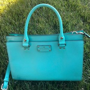 kate space Tiffany blue